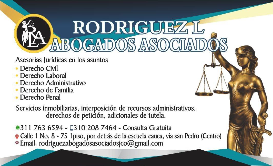 ABOGADOS RODRIGUEZ L ASOCIADOS Santander de Quilichao