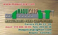 Maquicarp, Maquinaria Para Madera Bogota