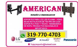 Foto de Soportes Tv Americana Jhordan Bucaramanga
